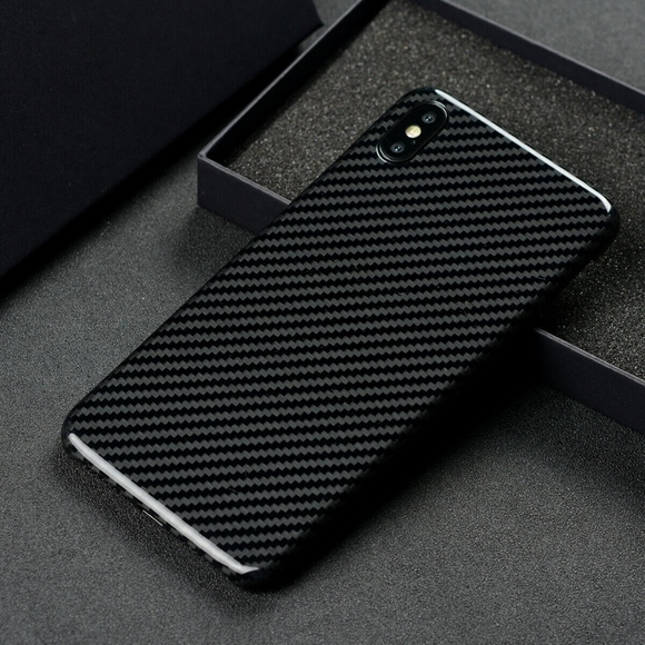 Carbon Fiber Iphone Case >> Iphone Xs Max Genuine Real Carbon Fiber Case Nwt
